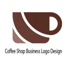 Coffee Shop Business Logo Design images