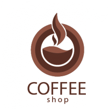 Coffee Shop Logo Vector images