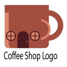 Coffee Shop Logo Vector Design images