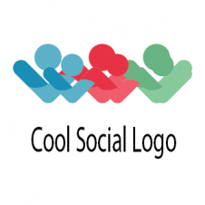 Cool Social Logo Vector images