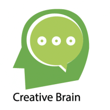 Creative Brain Logo Vector images