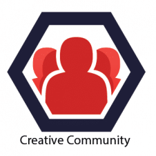 Creative Community Logo Vector images