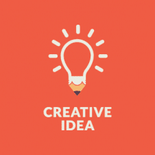 Creative Idea Logo Vector images