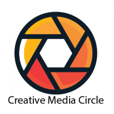 Creative Media Circle Logo Vector images