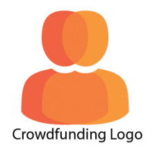 Crowdfunding Logo Vector Design images