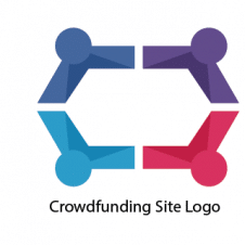 Crowdfunding Site Logo Vector images