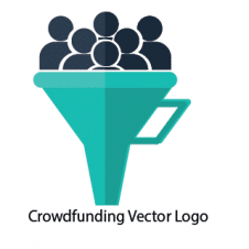 Crowdfunding Vector Logo Design images