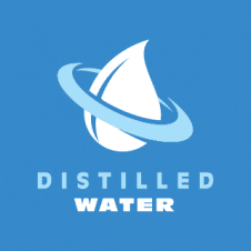 Distilled Water Logo Vector images