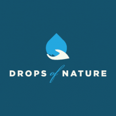 Drops Of Nature Logo Vector images
