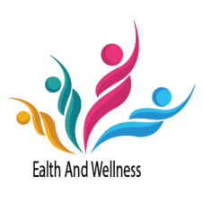 Ealth And Wellness Logo Vector images