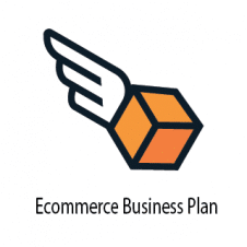 Ecommerce Business Plan Logo Vector images