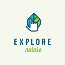 Explore Nature Logo Vector images