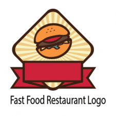 Fast Food Restaurant Logo Vector images