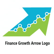 Finance Growth Arrow Logo images