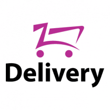 Food Delivery Icon Vector Logo images