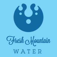 Fresh Mountain Water Logo Vector images