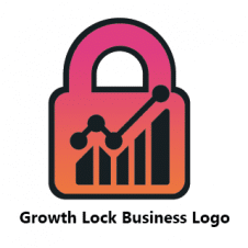 Growth Lock Business Logo images