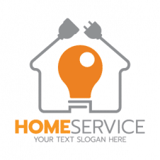 House Service Vector Logo images