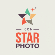 Icon Star Photo Logo Vector images