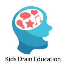 Kids Drain Education Logo Vector images