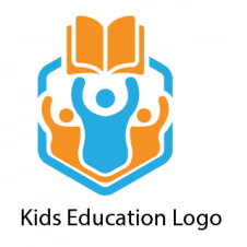 Kids Education Logo Vector images