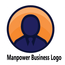 Manpower Business Logo Vector images