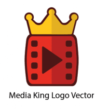 Media King Logo Vector images