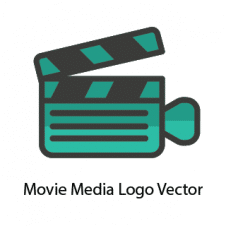 Movie Media Logo Vector images