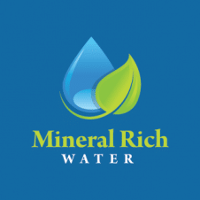 Mineral Rich Water Logo Vector images