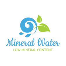 Mineral Watetr Logo Vector images