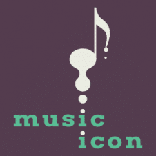 Music Icon Logo Vector images