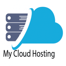 My Cloud Hosting Logo Vector images