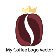 My Coffee Logo Vector images