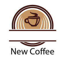 New Coffee Logo Vector images