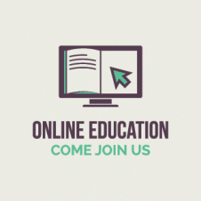 Online Education Logo Vector images