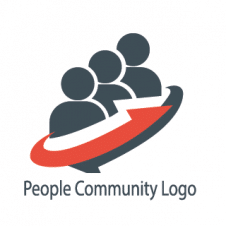 People Community Logo images