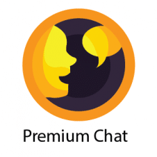 Premium Chat Logo Vector images