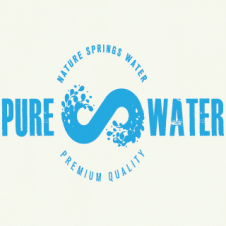 Pure Water Vector Logo images