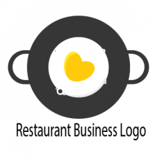 Restaurant Business Logo Design images