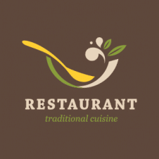 Restaurant Traditional Cuisine Logo Vector images