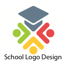 School Logo Design Vector images