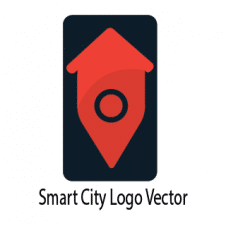 Smart City Logo Vector images