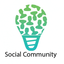 Social Community Logo Vector images