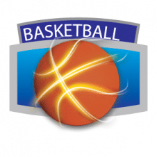 Sport Basket ball Vector Logo images