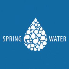 Spring Water Logo Vector images