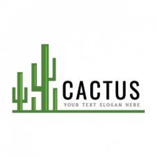 The Cactus plant Logo Vector images