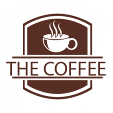 The Coffee Logo Vector images