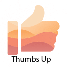 Thumbs Up Logo Vector images