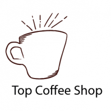 Top Coffee Shop Logo Vector images