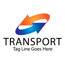 Transport Vector Logo Design images